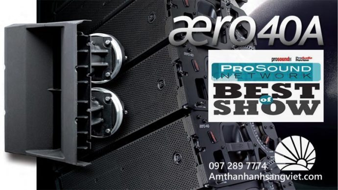 D.A.S Audio Aero 40A Best of Show