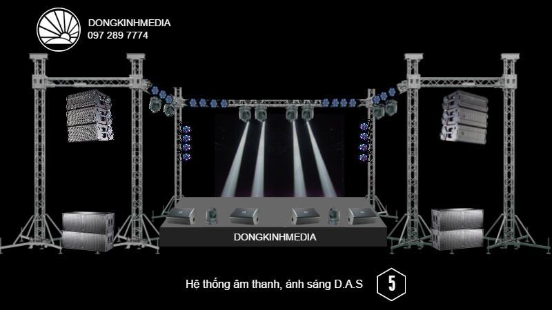 Hệ thống âm thanh Sân Khấu chuyên nghiệp