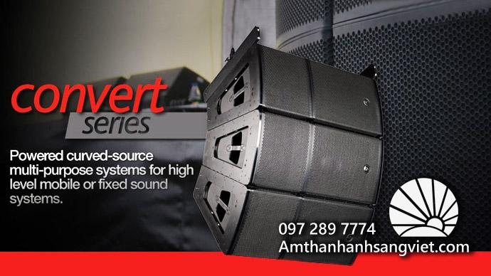 Hệ thống loa treo (Line Array) - Thiết bị âm thanh chuyên nghiệp