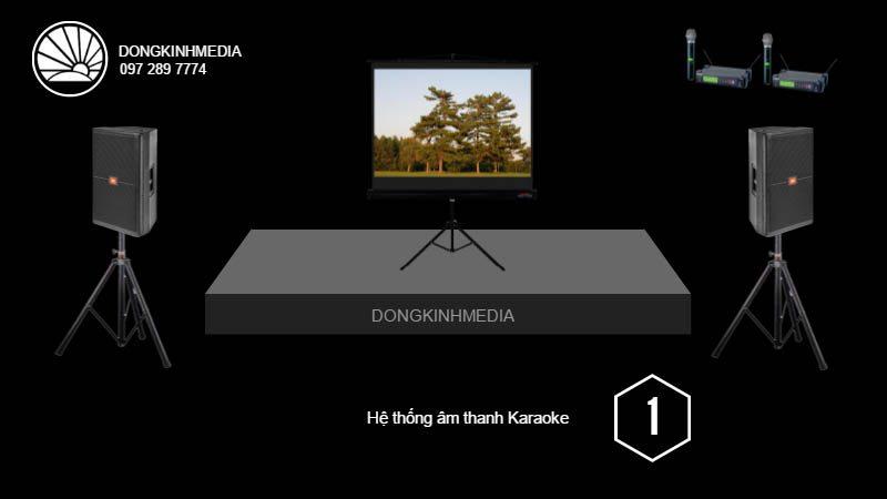 Gói âm thanh, ánh sáng Karaoke cơ bản 1