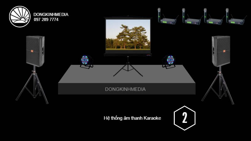 Gói âm thanh, ánh sáng Karaoke cơ bản 2
