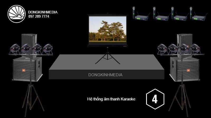 Gói âm thanh, ánh sáng Karaoke nâng cao