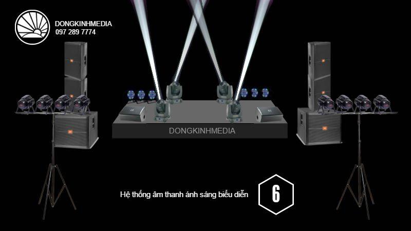 Hệ thống âm thanh, ánh sáng Biểu diễn nâng cao