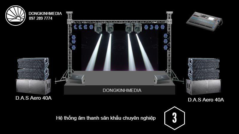 Hệ thống âm thanh Sân Khấu chuyên nghiệp 3