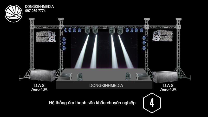 Hệ thống âm thanh Sân Khấu chuyên nghiệp 4