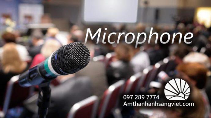 Microphone Thiết bị âm thanh