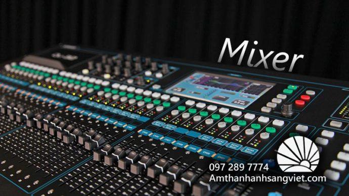 Mixer Thiết bị âm thanh