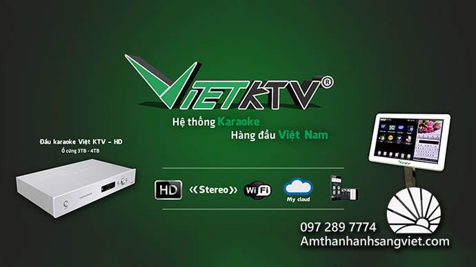 Đầu Karaoke của VietKTV