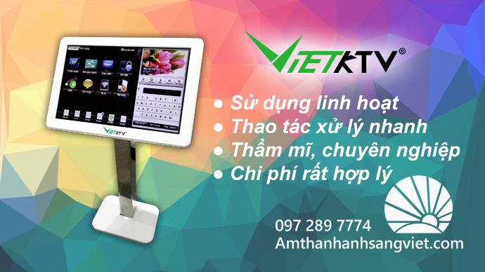 Cho thuê dàn Karaoke ở Hà Nội, tích hợp màn cảm ứng