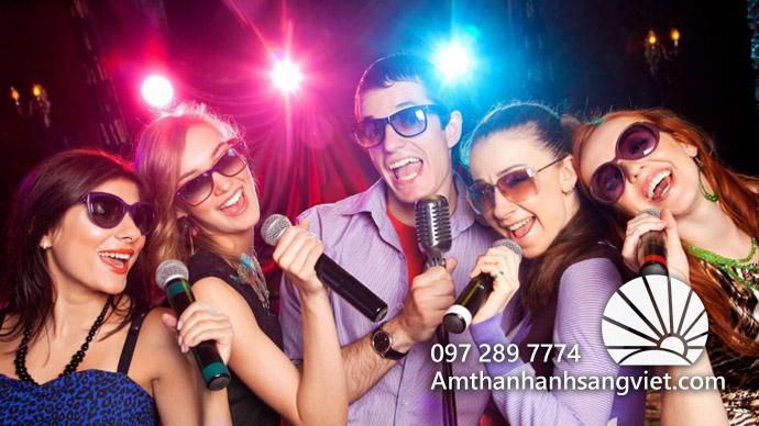 Mục đích cho việc thuê dàn Karaoke