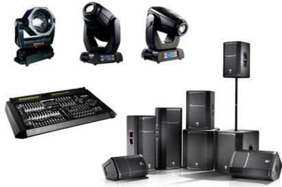 Hệ thống âm thanh ánh sáng chuyên nghiệp cho đám cưới
