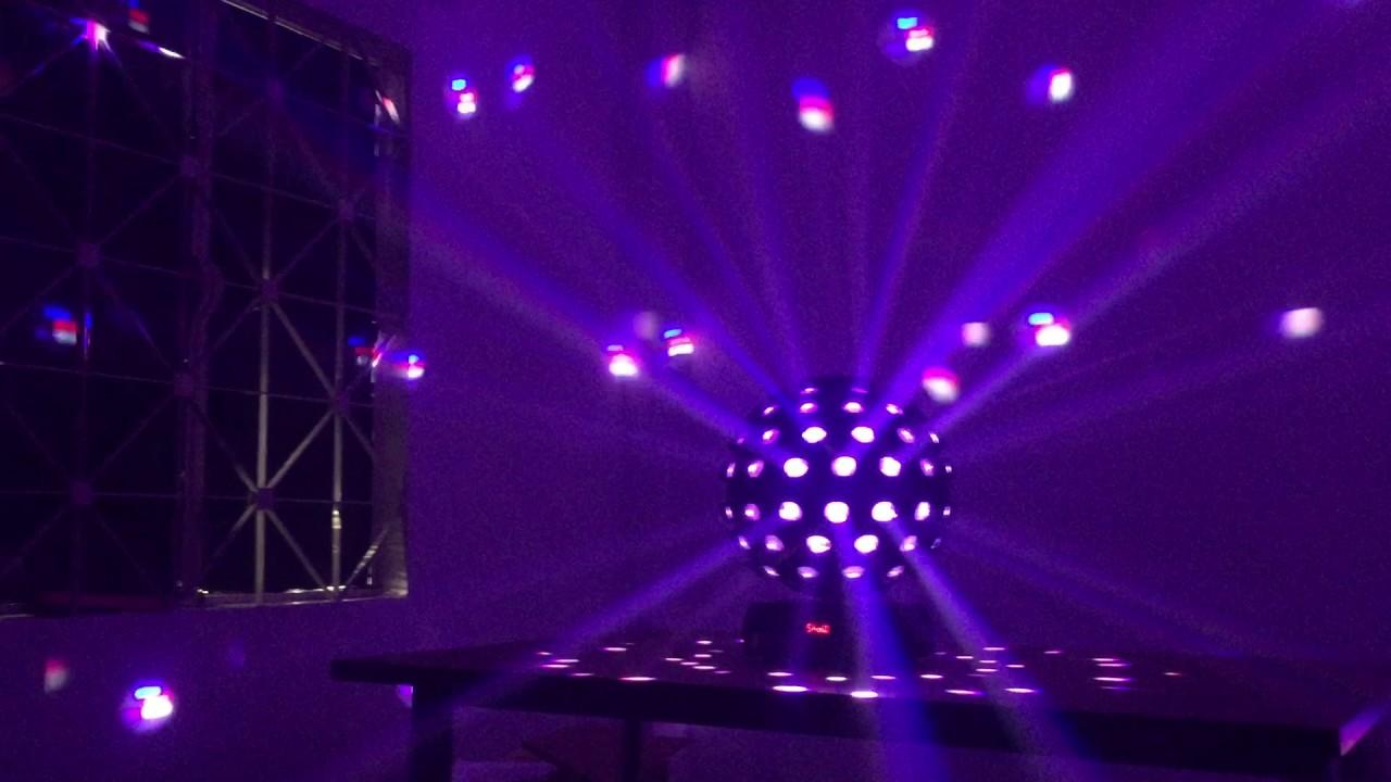 đèn cầu led cảm ứng âm thanh 32 màu